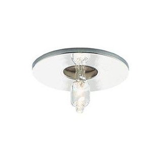 Recessed halogen spotlights