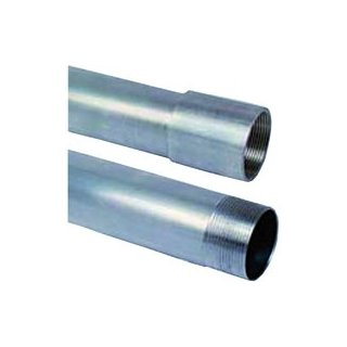 Installation pipes aluminum