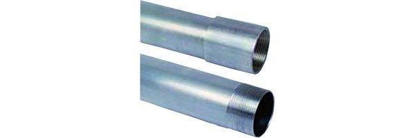 Installation pipes aluminum