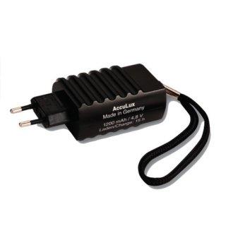 AccuLux 422865 PowerLux Halogen Ladeteil, 230 V, schwarz,...