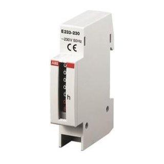 ABB E233-12/48 Betriebsstundenzähler 12..48 VDC