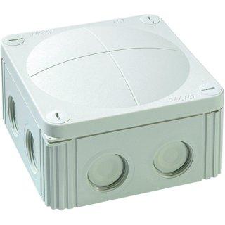 HFRAK060 RAL7035 FR-Kabelabzweigkasten IP66, 110x110x66 mm