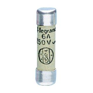 Legrand 12306 Sicherung 8,5 x 31,5 mm 6A Typ gG