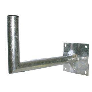 HWAH40-B Wandhalter Stahl mit Kunststoffkappe, 40cm