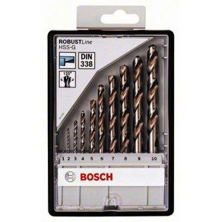 Bosch Professional 10tlg. Robust Line Metallbohrer-Set...
