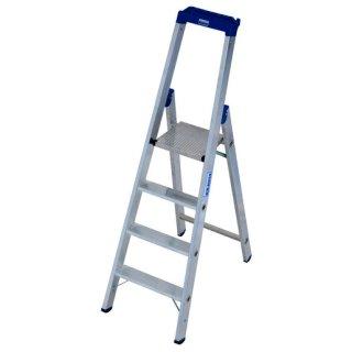 Krause 124517 STABILO Stufen-Stehleiter 4 Stufen