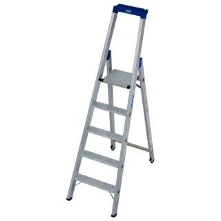 Krause 124524 STABILO Stufen-Stehleiter 5 Stufen