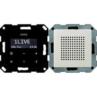 GIRA 228027 UP-Radio RDS Lautsprecher System 55...