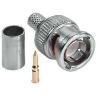 ABUS TVAC40600 BNC Crimp Stecker RG-59