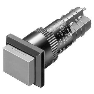 EAO 01-261.022 Leuchtdrucktaste R SP 1Ö+1S 18x24 L/S...
