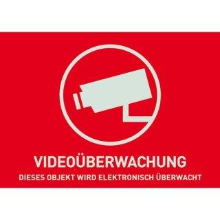 ABUS AU1321 Warnaufkleber Videoüberwachung (ohne...