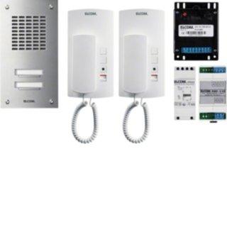 Elcom 1000728 ASZ-2EM AudioSet 2TLN UP 1+n Edelst.ESTA