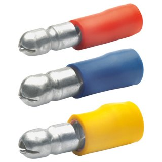 Klauke 1020 Rundstecker isoliert, d: 4 mm, 0,5-1 mm²