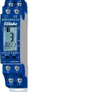 Eltako BZR12DDX-UC Betriebsstunden-Impulszähler. 1...