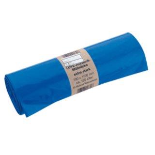 HSACK120 Allzweck-Abfallsack blau 700x1100mm 120l/25...