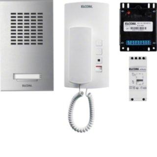 Elcom 1000919 AZA-1EM AudioSet 1TLN AP 1+n Edelst.ESTA