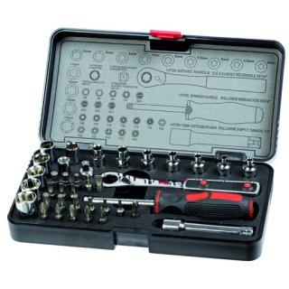 Bizline BIZ 700203 38-teiliges Steckschlüssel-Set...