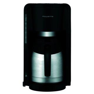 Rowenta CT3818 Edelstahl Thermo Kaffeemaschine, Schwarz /...