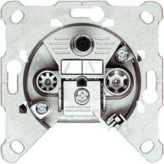 Triax EDA 302 F 3fach Einzeldose, SAT/BK, 5-2400MHz