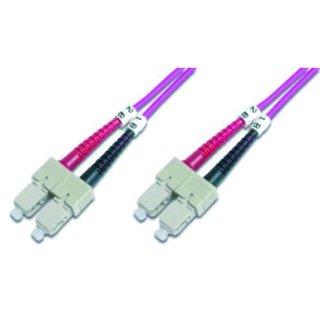 HDK-2522-01-4 LWL-Duplex-Patchkabel SC/SC SC-SC duplex MM...