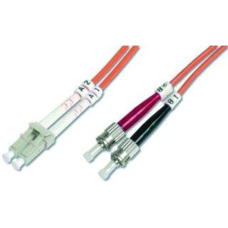 HDK-2531-10/3 LWL-Duplex-Patchkabel ST/LC ST-LC duplex MM...