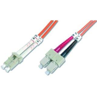 HDK-2532-01-4 LWL-Duplex-Patchkabel SC/LC SC-LC duplex MM...