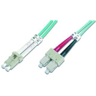 HDK-2532-02/3 LWL-Duplex-Patchkabel SC/LC SC-LC duplex MM...