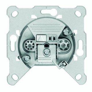 Triax FS 12 BK-Durchgangsdose, 2fach, RF 12dB, TV 11dB