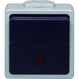 HFRWSAUS LED IP54 Aus-/Wechselschalter beleuchtet