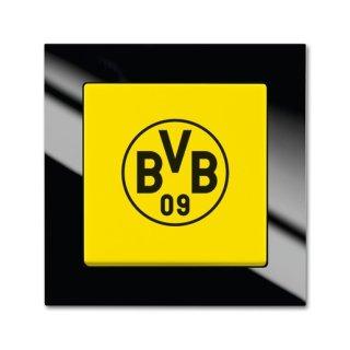 Busch-Jaeger 2000/6 UJ/01 Fanschalter Borussia Dortmund,...