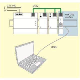 WEINZIERL 311 KNX USB Interface  REG (Art.Nr. 5117)