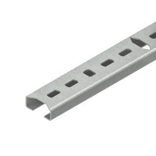 Niedax 2913/2 FLA Reihenschiene, C-Profil, Schlitzweite...