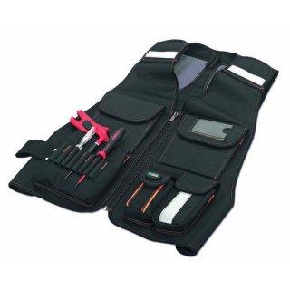 CIMCO 17 5120 Werkzeugweste praktische Ausstattungsdetails für den Profi 480x660mm
