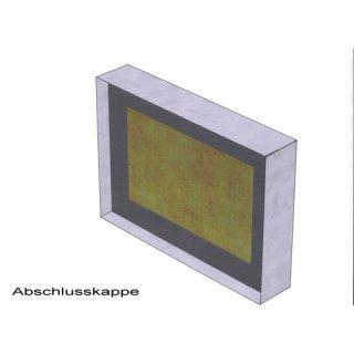 Flamro Abschlusskappe Easy I 90/E 30 - 110 x 50...