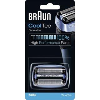 Braun 40 B Braun Kombipack 40B, blau/schwarz