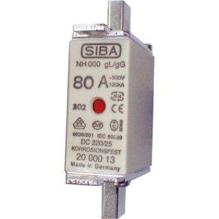 SIBA GMBH 2020913.63 NH00 63A gG 690V