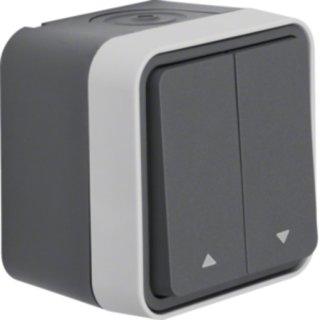 Berker 30753525 Jalousie-Serienschalter Pfeile AP W.1 gr