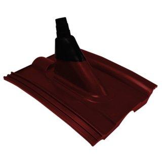 Astro 220 K rot Dachhaube zur Mastdurchführung durch...