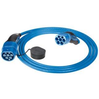 Mennekes eMobility 36245 Ladekabel Mode 3 Typ 2 20A 3PH 7,5m