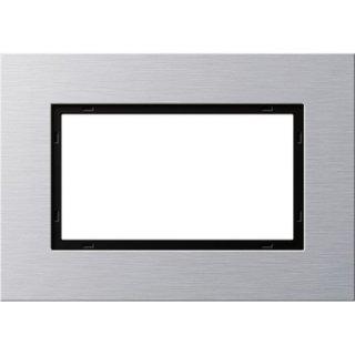 GIRA 100117 Abdeckrahmen 1,5f Gira Esprit Aluminium
