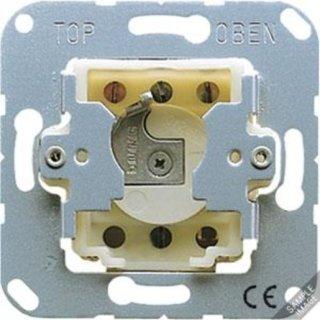 Jung 106.28 Schlüsselschalter mit Demontageschutz,...