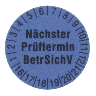 Beha-Amprobe 1238B 1238B Prüfetiketten Ø 15...