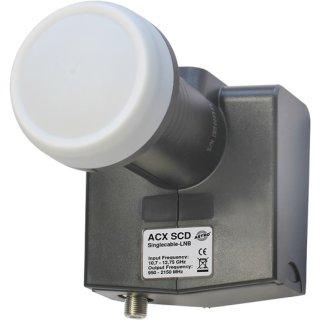Astro ACX SCD Einkabel-LNB für bis zu 8 (EN 50494)...