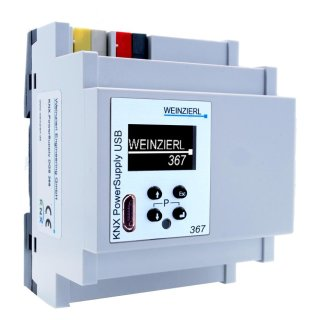WEINZIERL KNX PowerSupply USB 367 (Art.Nr. 5219)