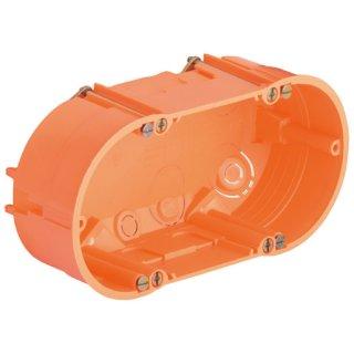HWGD HW- Doppelgerätedose mit 4 Geräteschrauben...