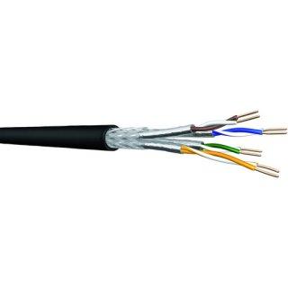 HCAT7PESS234P100M Cu-Datenkabel Aussen R/100m CAT7 AWG23...