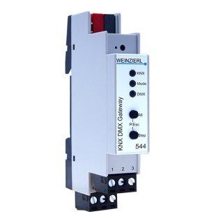 WEINZIERL KNX DMX Gateway 544 - KNX Gateway zu DMX512...