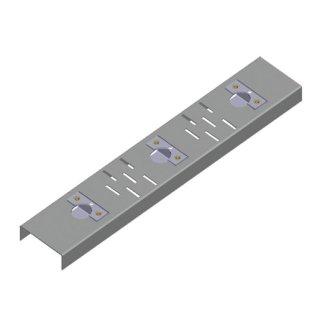 ABN GmbH 75952 Adaptersatz für 2 NH00 Leisten, M8x20