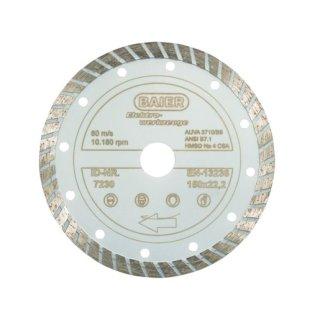 Baier 7230 Diamantscheibe Turbo (All)Round 150 x 22,2 mm