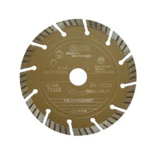 Baier 75333 Diamantscheibe Gold II 150 x 22,2 mm
